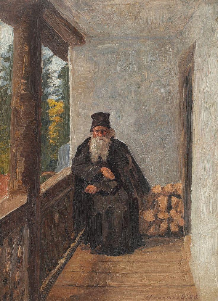 Ludovic Bassarab, Călugăr în cerdac