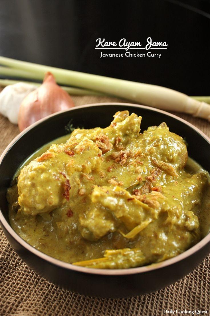 Kare Ayam Jawa - Javanese Chicken Curry