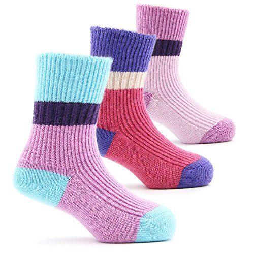Girls Thick Wool Socks Kids Winter Seamless Socks #Girls #Thick #Wool #Socks #Kids #Winter #Seamless