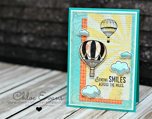 Onstage Display cards Day 1 - Lift Me Up and Carousel Birthday