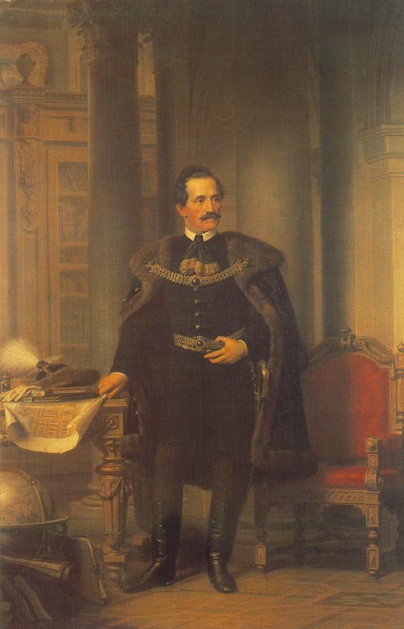 Portrait of Emil Desseweffy  by Miklós Barabás http://www.fursbygartenhaus.com/