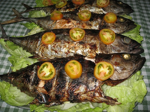 Grilled Whole Fish With Chili Soy Dipping Sauce Recipe — Dishmaps
