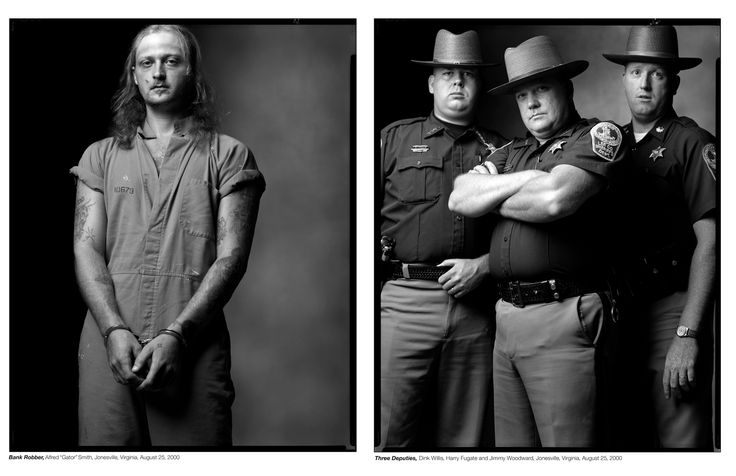 "Do You Think These People Were Created Equal After Seeing These Photos? Photographer Mark Laita, who decided to stand people of different backgrounds, occupations, and appearances next to each other to — in his words — ""let the viewer think for themselves about how the two individuals in the photographs relate and what that means."""