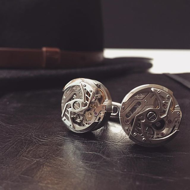 Something for the guys this Christmas. Treat him with these Encelade stainless steel cuff links from the rotor collection. #fairfaxandroberts #encelade1789 #cufflinks #forhim #christmaslist #mensjewellery #mensstyle #mensfashion #mensgifts