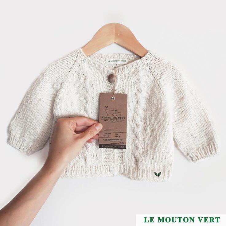 Sweater bebe: Run Run, cód. 1419-1 (3-6 meses) Disponible / Available Envíos a Chile and 🌎 Info: Direct or contact@lemoutonvert.org www.lemoutonvert.org //