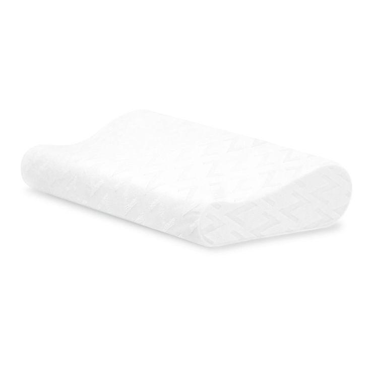 Gel Dough Memory Foam Contour Pillow