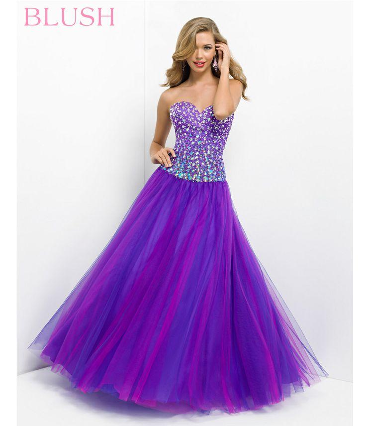 Atractivo Rubor Vestidos De Cóctel De Colores Regalo - Vestido de ...