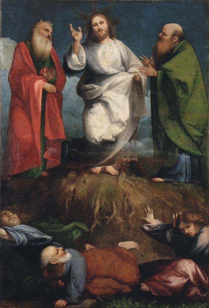 Transfiguration / Transfiguración / Trasfigurazione // 1515-1516 // Pordenone (Giovanni Antonio de' Sacchis) // Pinacoteca di Brera // #Jesus #Christ #Moses #Elijah