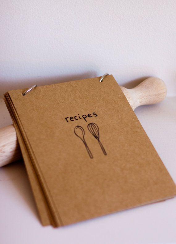 handmade recipe cards by Emiko Davies are not only pretty, they have practical features though up by the artist/chef herself.