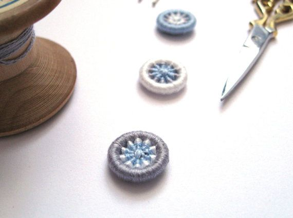 Coming on to Rain or Rain Clearing Buttons Handmade by Bigbluebed, $8.50
