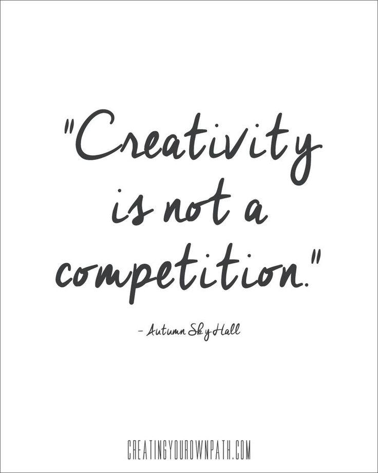 All creativity is beautiful | Jenniferesnyder