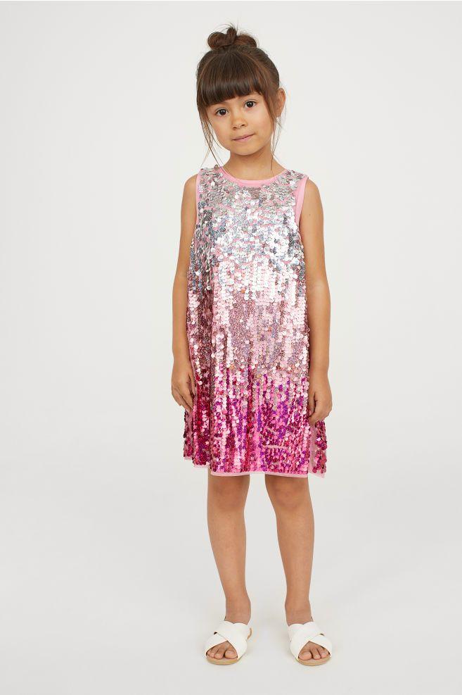 bf5d01bf3b Sequined dress | swim stuff T.I.N.T.G | Dresses, Sequin dress, Pink ...