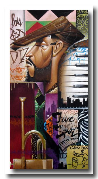frank morrison | Frank Morrison — Urban Jazz | The Painted Note Gallery