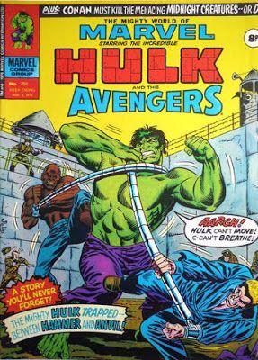 Mighty World of Marvel #201, Hulk vs Hammer and Anvil