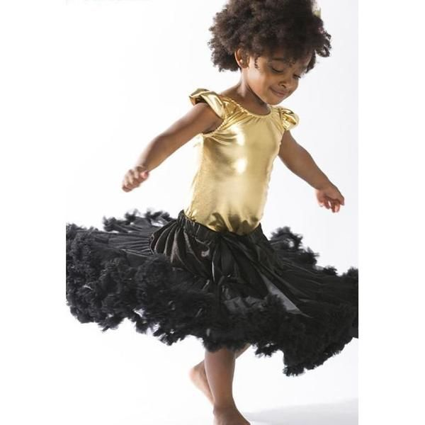 Baby Petticoat Tutu Skirt - Black. Christmas outfit. Newborn Photography. Birthday outfit. Princess. Special Occassion