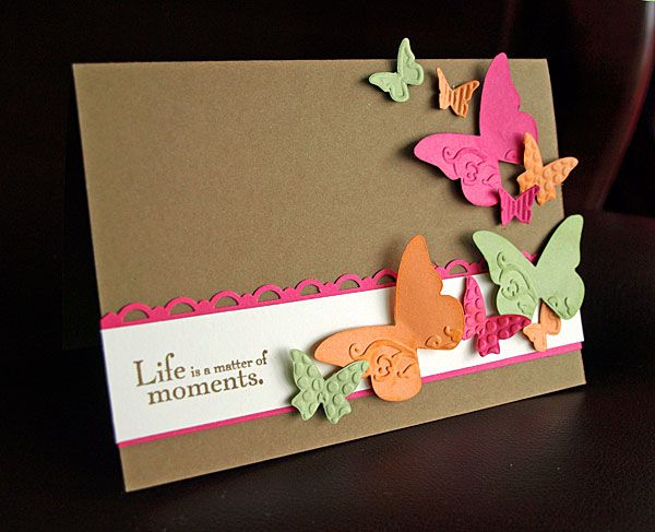 pretty papillons by JoieDeVivre House - Cards and Paper Crafts at Splitcoaststampers