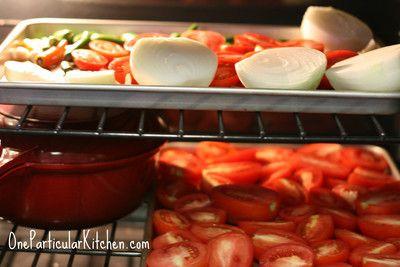 Salsa roja (roasted red salsa)