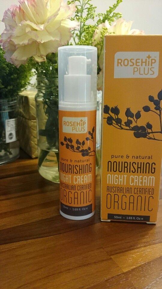 Rosehip plus night cream review