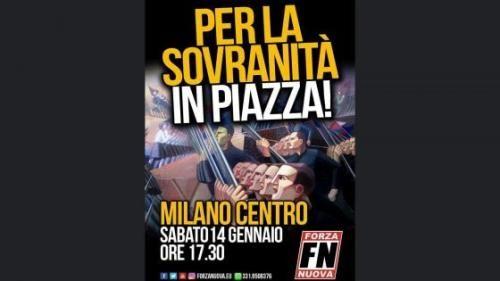 """Lombardia: #Forza #Nuova #manifesto shock per il corteo in centro a Milano: """"Apologia del fascismo Sala facc... (link: http://ift.tt/2iIPTRd )"""