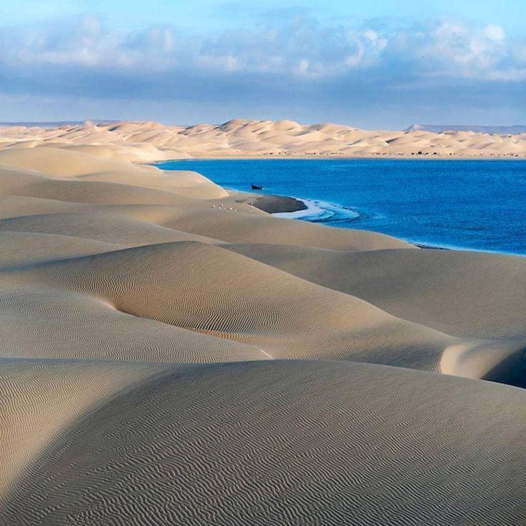 Sahara y la costa atlantica
