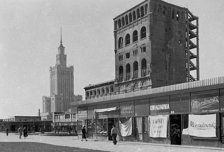 Warszawa, 1959, foto. Gerald Howson