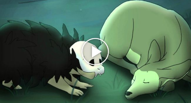 """The Life of Death"" – Beautiful Animation About The Day Death Fell In Love With Life http://www.iconicvideos.biz/the-life-of-death-beautiful-animation-about-the-day-death-fell-in-love-with-life/"