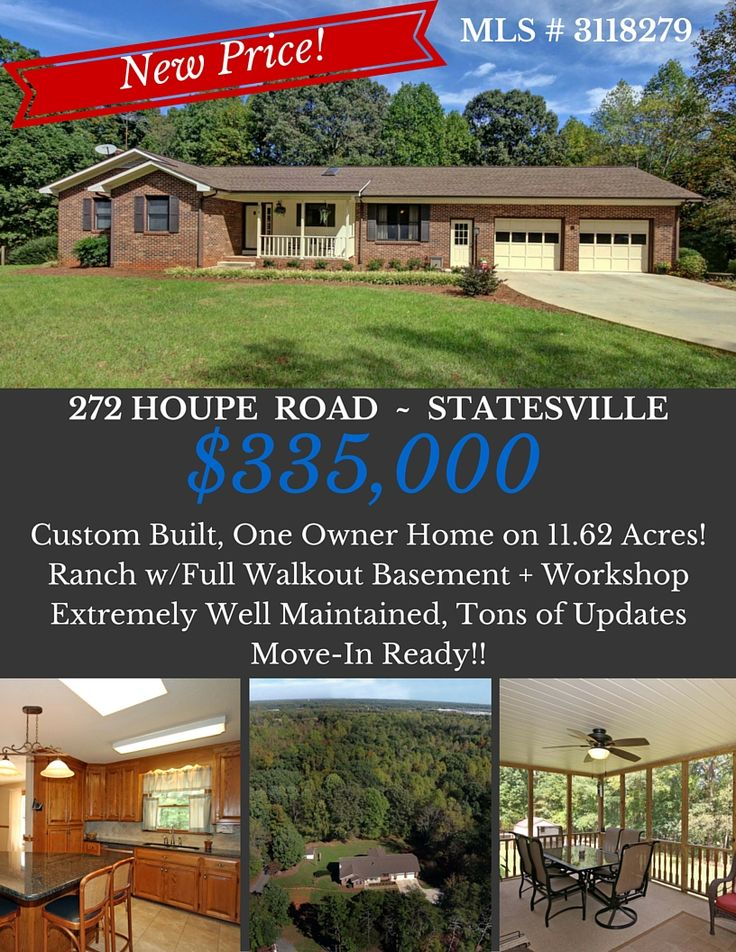 House for Sale! Brick Ranch w/Full Basement on 11+ Acres