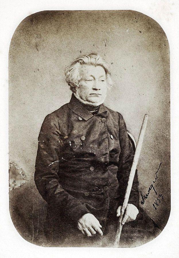 Adam Mickiewicz z laską pielgrzyma fotografia z 1853 roku, rep. Piotr Mecik / Forum