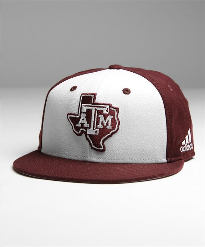 info for 1c03a 8f28b Adidas Texas A M Lone Star Baseball On Field Fitted Cap Maroon White    Aggieland Outfitters
