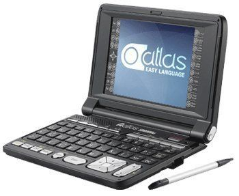 Atlas SD8800ci Electronic Dictionary by First Trading Co.. $294.00. Dictionaries: The latest edition of Atlas Modern Dictionary English-Arabic (Encyclopedic) 2008 with thousands of new words, definitions and illustrated images. The newly updated Atlas (Arabic-English) Dictionary with Arabic talking feature is included, besides Collins Cobuild dictionaries that are famous for the clear and comprehensive definitions and illustrated meanings. Nine specialized dictionaries co...
