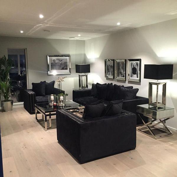 47 Popular Living Room Decor Ideas With Black Sofa Black Sofa Living Room Decor Black Furniture Living Room Black Sofa Living Room