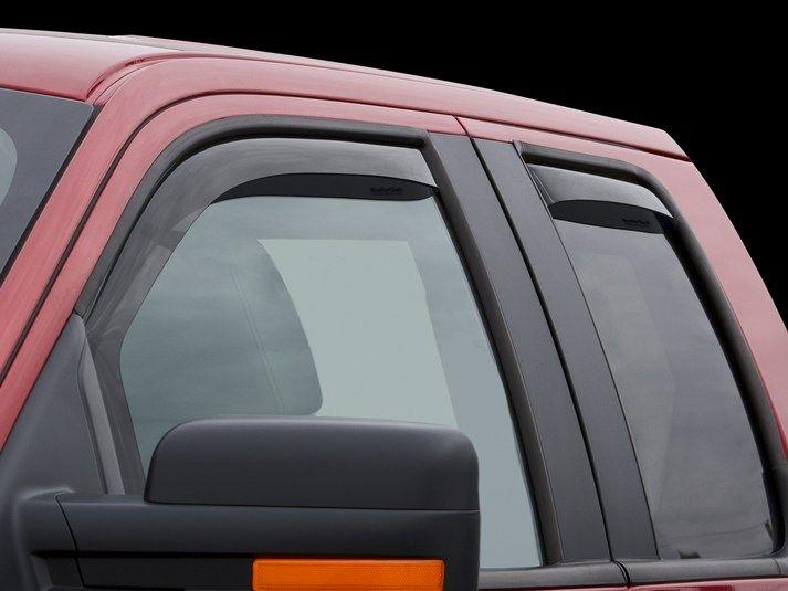 2011 Ford F-150   WeatherTech Side Window Deflectors, Rain Guards, Wind  Deflectors