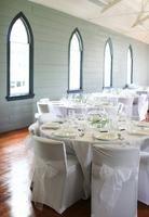Ideas de decoración de una mesa para una recepción nupcial espectacular