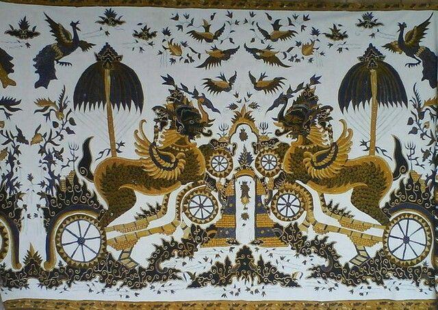 Batik Motif Singa Barong