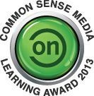 "AlphaTots wins a 2013 ON for Learning Award!    ""Common Sense Media's ON for Learning Award is given to the very best in kids' digital media. We are excited to recognize the just over 50 apps, games, and websites that received our highest rating for learning potential."""