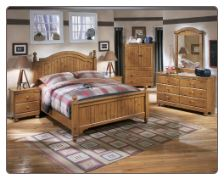stages full poster bed bedroom set signature design by ashley furniture