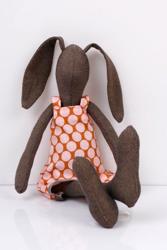Handmade Fabric Bunny