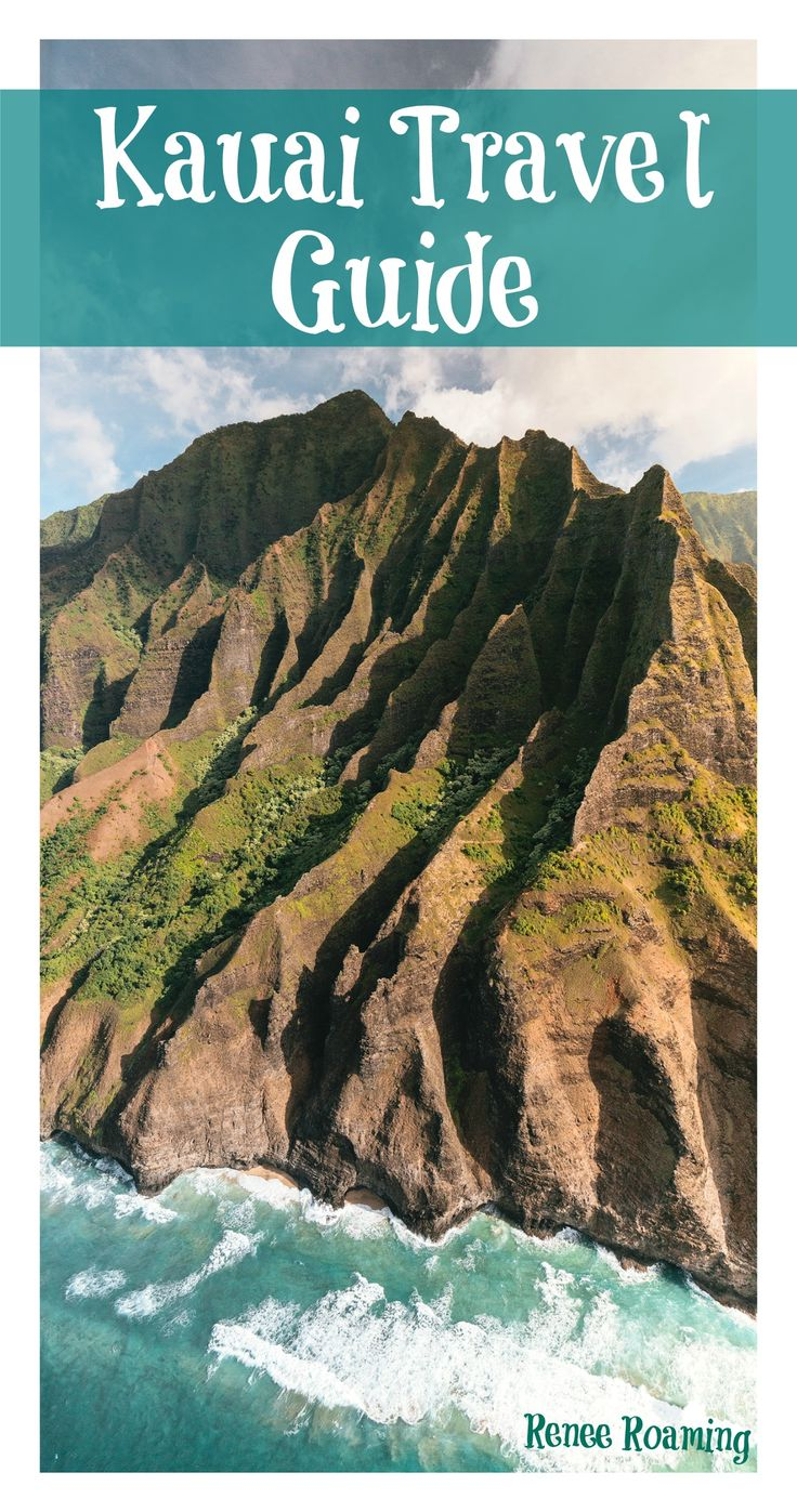 Travel guide for Kauai, Hawaii. Including adventure activities, hiking, food & accommodation / couple travel / romantic / napali coast / beach / summer / travel / wanderlust. Renee Roaming - http://www.reneeroaming.com