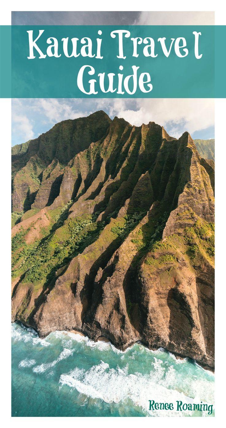 Travel guide for Kauai, Hawaii. Including adventure activities, hiking, food & accommodation / couple travel / romantic / napali coast / beach / summer / travel / wanderlust. Renee Roaming - www.reneeroaming.com