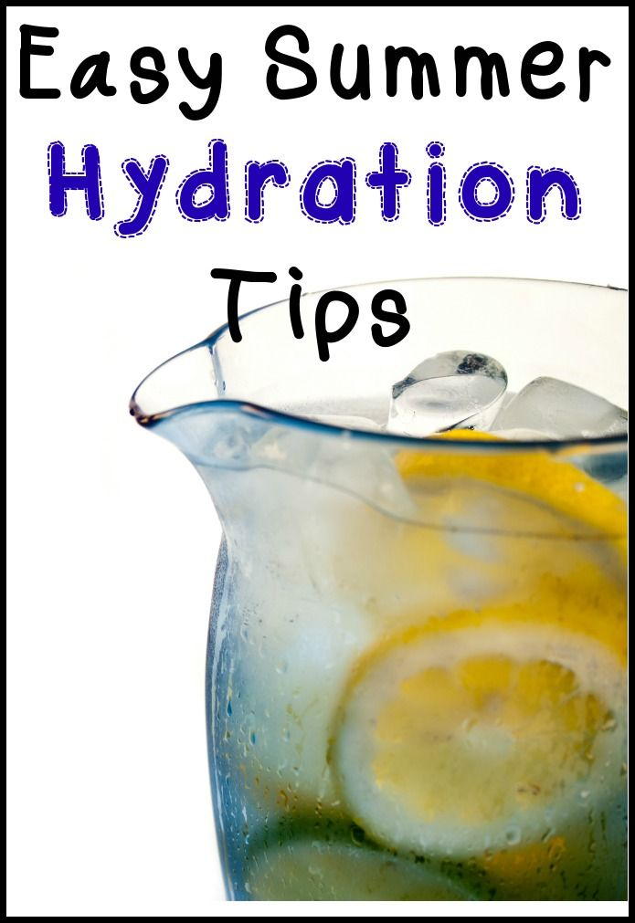 Easy Summer Hydration Tips #infusedwater #hydration #kidfriendly - Addicted 2 Savings 4 U
