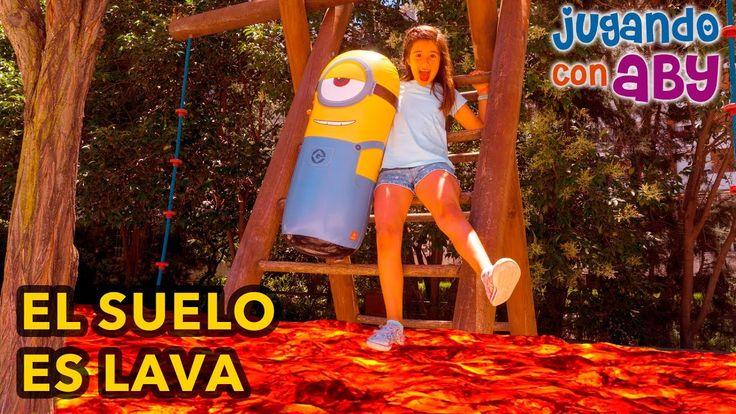 EL SUELO ES LAVA. Jugamos con un MINION GIGANTE. The floor is lava