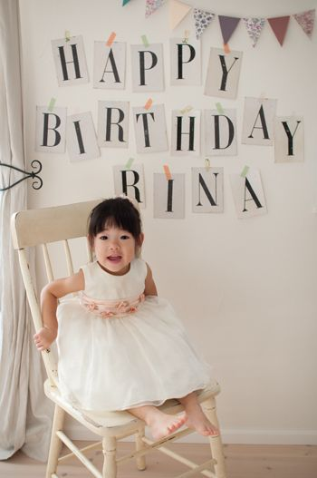 2歳のお誕生日パーティーアイデア☆会場にフォトブースを設置♪