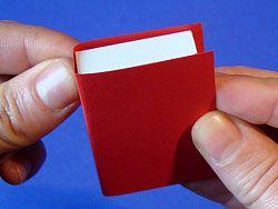 boekje knutselen luciver doosje rood papier