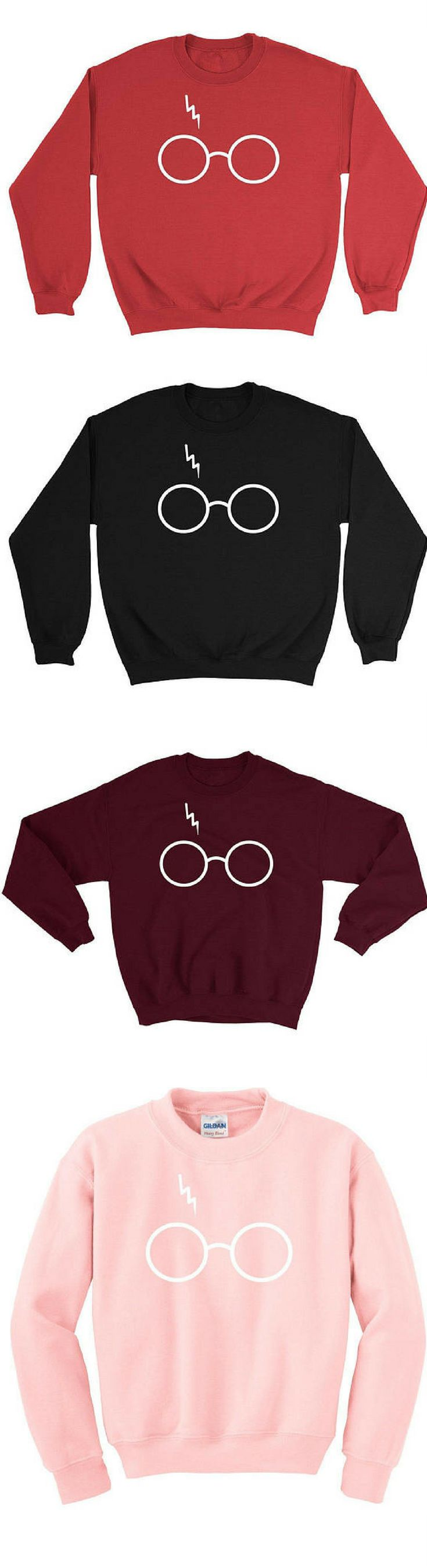 Best seller on Etsy! Harry Potter Sweatshirt Sweater - Glasses with Lightning Bolt Scar - Unisex - Awesome Hogwarts Sweatshirt - Super Soft Fleece #Harrypotter #sweatshirts #bestseller #giftideas #GIFTIDEA #gift #christmasgifts #christmas harry potter | harry potter tattoo | harry potter funny | harry potter party | harry potter costume | Harry Potter Film | Harry Potter | Harry Potter Hub | Harry Potter | Harry Potter...Always | ⚡Harry Potter⚡ |