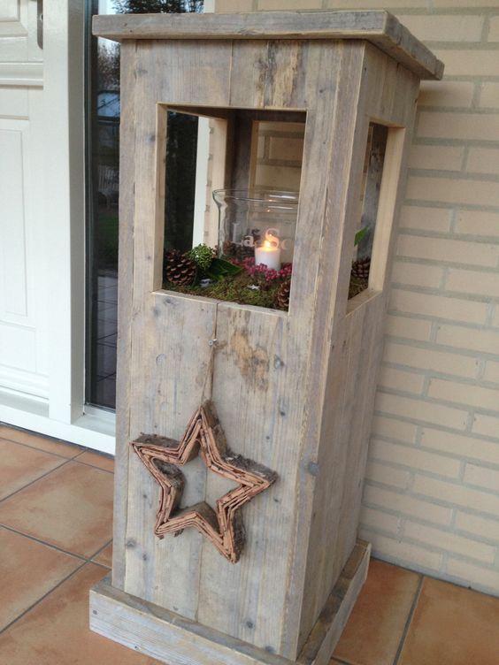 Bouwtekening Kerstboom Steigerhout.Kertdecoratie Kerstbomen Steigerhout Houtenmeubels