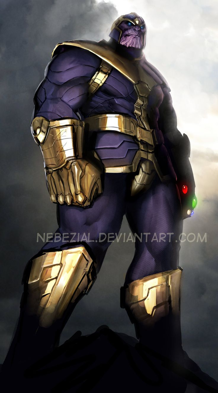 Thanos by Stjepan Sejic | Marvel.VS.DC | Pinterest ...