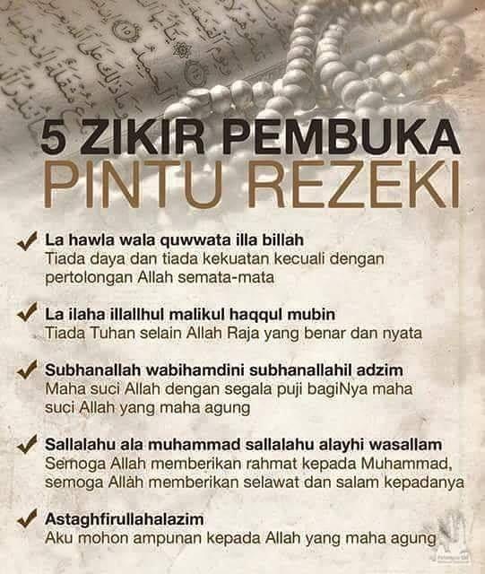 Mudah-mudahhan kita semua dipermurahkan Rezeki.. Insyaallah #takzimrich http://ift.tt/1WbeWca
