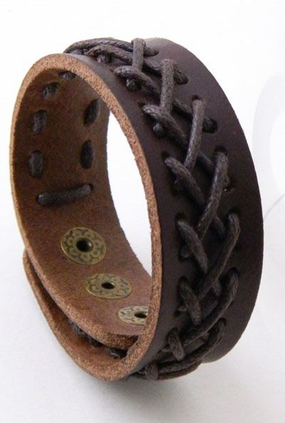Romantic Nomad Braided Leather Cuff Bracelet in Brown   Sincerely Sweet Boutique