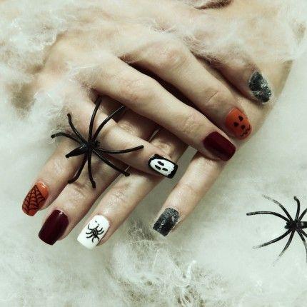 Nail art di Halloween per unghie da...urlo!