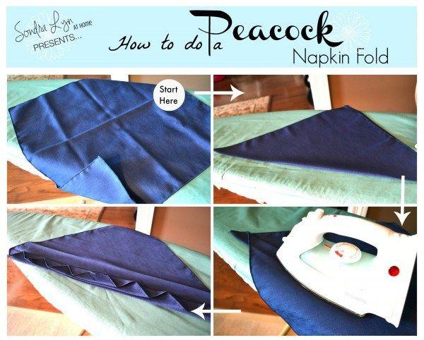 Lotus Leaf Napkin Folding : + images about napkin folds on Pinterest  Creative, Napkin folding